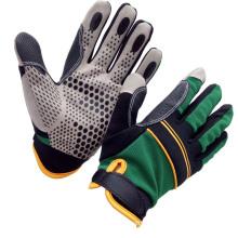 Impacted Palm Anti Slip Silicone Grip Auto Mechanics Glove