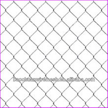 9 gauge galvanized or PVC coated chain link fence