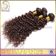 Быстрый воздуха доставки Китая высокое качество девственной перуанский глубокая волна волосы