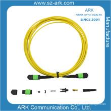 МПО/APC одномодовых оптических волокна патч-корд