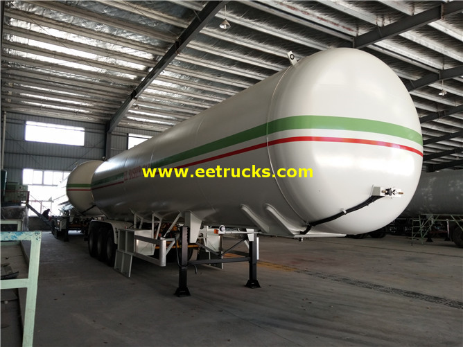 55000 Litres LPG Gas Tank Trailers