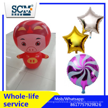 Foil Mylar Helium Cartoon Balão