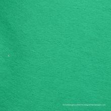 Tela no tejida de teñido verde