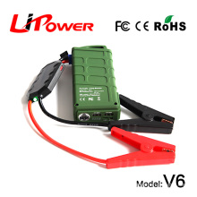 2015 New car accessories auto starter 600Amp Peak car jump starter power bank with smart battery booster cable