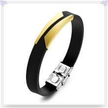 Rubber Bracelet Fashion Jewelry Silicone Bracelet (LB639)