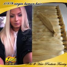 Billiges brasilianisches Jungfrau-Haar 100 Prozent-menschliches blondes Haar-Masse