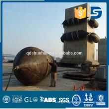 marine rubber inflatable floating pontoon