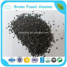 abrasivos de alumina fundida marrom para tratamento de superfície
