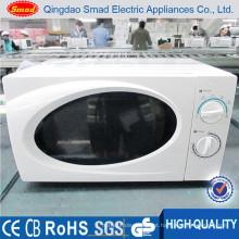 Forno de microonda manual de alta qualidade da bancada de 20L 700w