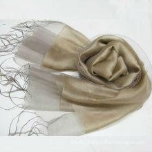 2016 Latest Fashion Two layer Silk Organza Scarves