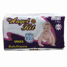 High Quality Disposable Baby Diaper with Magic Tape.