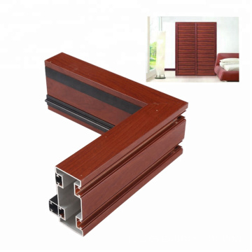 Window door standard aluminium extrusion profiles