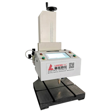 ketepatan tinggi desktop Dot Peen Metal Tube Marking Machine