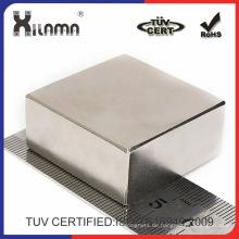 Große quadratische Neodym-Magneten für elektrische Komponente und Industrie-