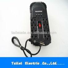 Stabilisateur de tension de type maison à prise électrique