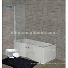 Acrylic Walk in Bathtub for Disabled People