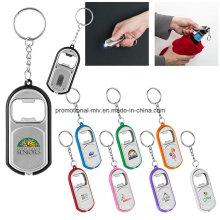 Функциональный Консервооткрыватель бутылки keychains с светодиодный фонарик для рекламных подарков