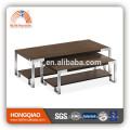 CT-35A CT-35B wood steel design coffee table