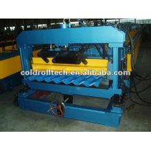 Stahl glasierter Dachziegel, der Maschine herstellt