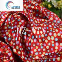 75dx150d 90GSM Printed Satin Fabric