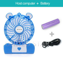 Mejor venta de Mini portátil recargable ventilador ventilador pequeño para viajar