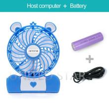 Bester verkaufender nachladbarer handlicher Miniventilator kleiner Ventilator für Spielraum