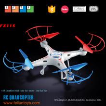 2,4 G 4.5CH 6 eixos giroscópio com kit de plástico quadcopter do rc de câmera HD
