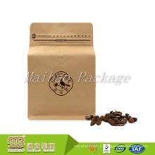 Bloc d'emballage de fermeture éclair rescellable d'emballage flexible fait sur commande d'emballage / bloc zip-lock d'emballage de noyau de papier kraft