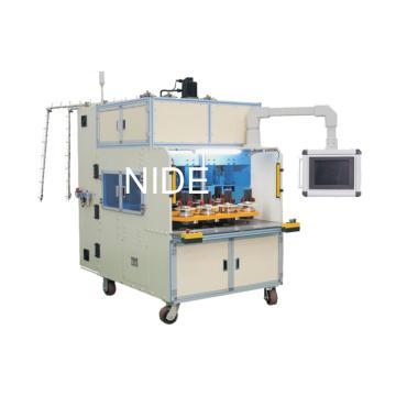 Machine d'enroulement de bobine de huit stations de travail