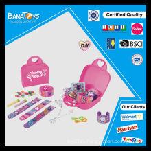 Juego de joyas de Diy juguete para niña con pdq caja de cuentas al por mayor