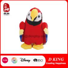 Promoción personalizado suave peluche relleno de animales pájaro de juguete