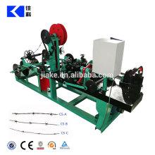 Arame farpado de alta velocidade de arame farpado que faz a máquina