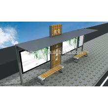 Abrigos de trânsito de estrutura de aço THC-43