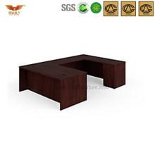 Modern U Shape Office Wooden Desk (HYL319-3)