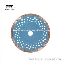 Heißpresse 180mm Diamanttrennscheibe für Granit