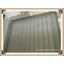 Maille décorative de mur de rideau en alliage d'aluminium