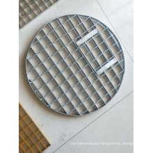 Durable in Use 3D Model Design Heavy Steel Grating Irregular Steel Grating