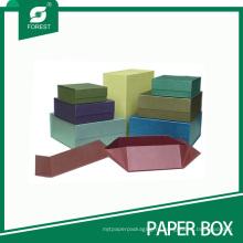 Складывая Коробка подарка с плоским Магнитная застежка картона с дешевым ценой