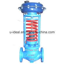 Válvula de controle de pressão auto-operada / reguladora - Válvulas reguladoras de auto-operação