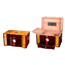 Antike hölzerne Zigarrenschachteln für Verkauf-Luxuszigarren-Kasten-Holz