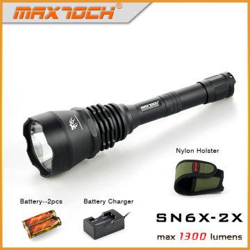 Maxtoch-SN6X-2 X 1300lm Langdistanz Blendung Taschenlampe