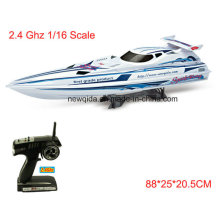 Oversized 88cm Length 2.4GHz 1/16 Scale Waterproof RC Electric Boats
