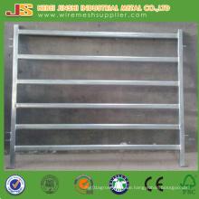 China Fabrik Versorgung 6 Schienen Oval Tube Vieh Zaun Panel