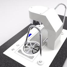 Máquina de café expresso de grupo único máquina de café comercial