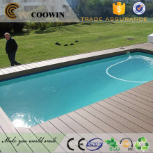 Long Life wpc decking prices/rubber wood floor decking