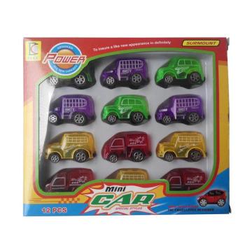 Пластиковый автомобиль вытяните назад автомобиль для детей