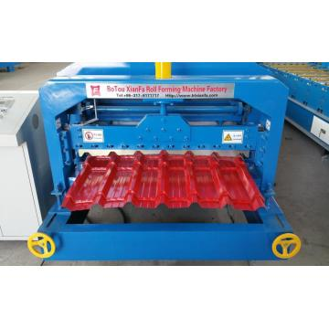 Atap IBR Glazed Tile Roll Forming Machine
