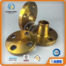 ANSI B16.9 bride en acier au carbone forgé bride pour projet d'essence (KT0315)