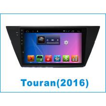 Android System Auto DVD Monitor für Touran mit Auto GPS Navigation / Auto DVD