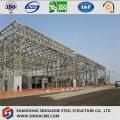 Estrutura de treliça de aço para hangar de aeronaves